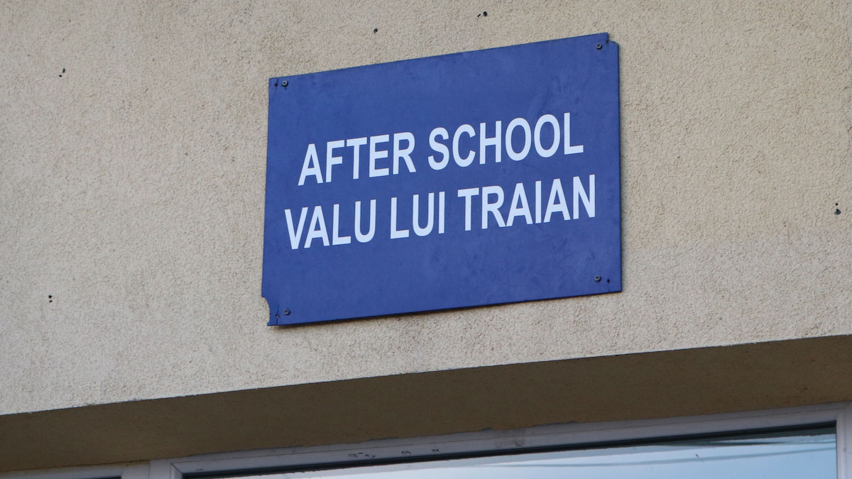 After School din Valu lui Traian. FOTO Adrian Boioglu / Valureni.ro