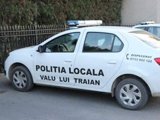 Poliția Locală Valu lui Traian. FOTO Adrian Boioglu / Valureni.ro