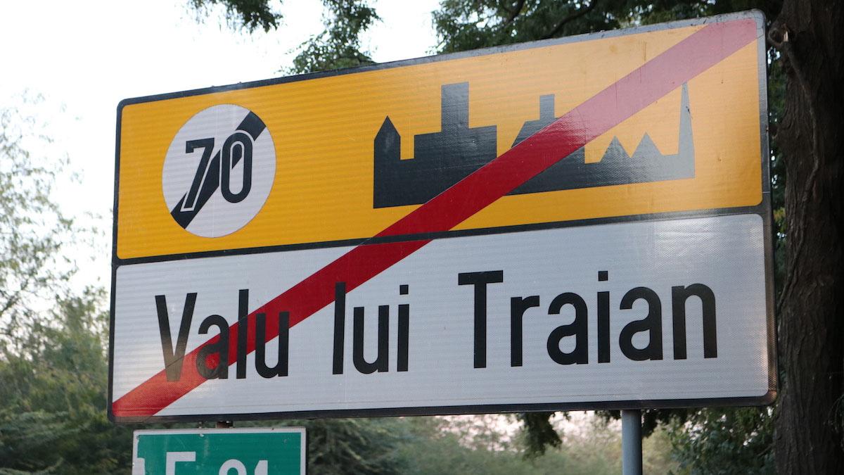Ieșirea din Valu lui Traian. FOTO Adrian Boioglu / Valureni.ro