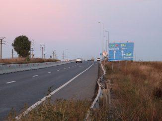 Drumul Constanța - Valu lui Traian. FOTO Adrian Boioglu / Valureni.ro