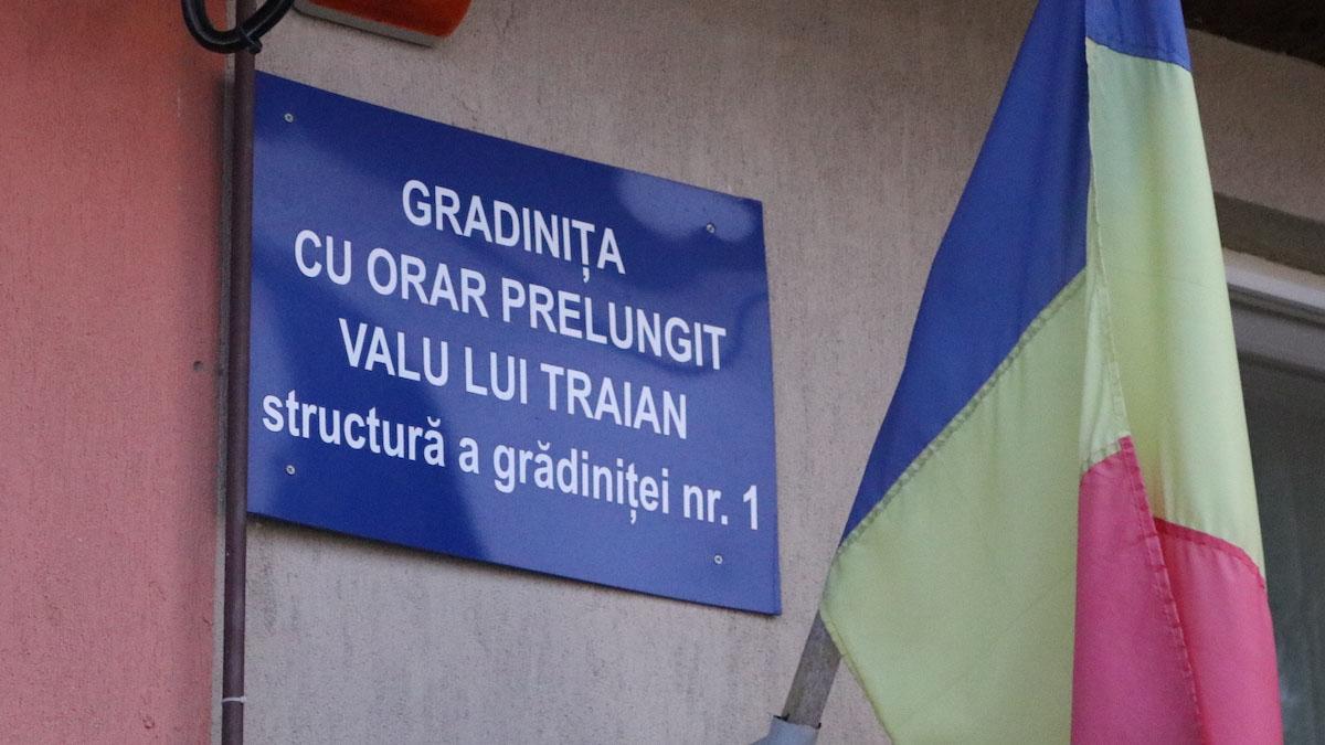 Grădinița cu Orar Preșungit din Valu lui Traian. FOTO Adrian Boioglu / Valureni.ro
