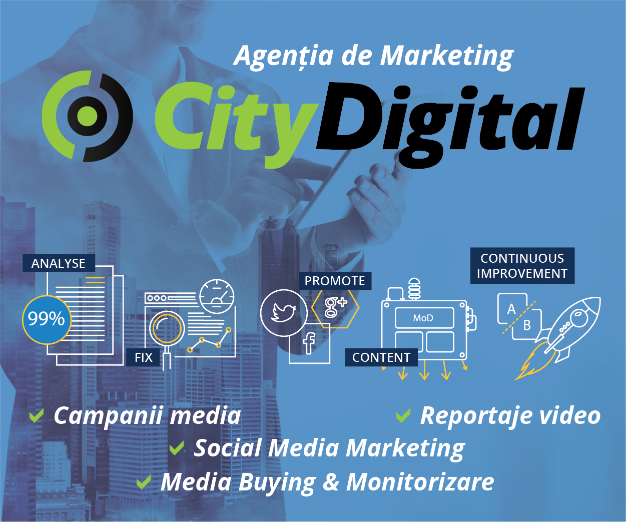 CityDigital - Agenție de Comunicare și Marketing