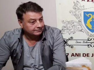 Primarul Florin Mitroi. FOTO Captură Video