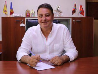 Florin Mitroi, primarul comunei Valu lui Traian. FOTO Adrian Boioglu