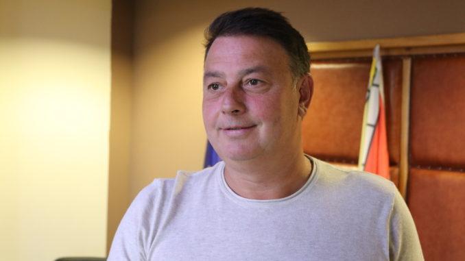 Primarul Florin Mitroi. FOTO Adrian Boioglu