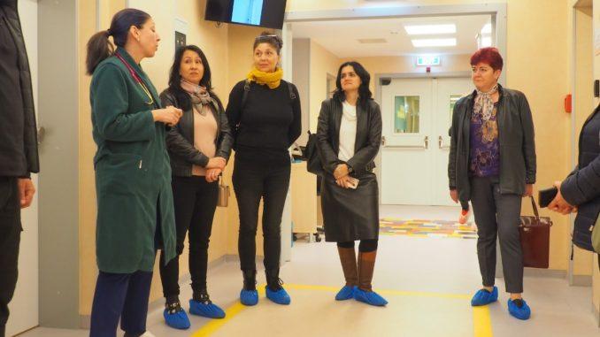 Secția de Pediatrie a Spitalului Județean Constanța, reabilitată și cu ajutorul Școlii Gimnaziale 1 din Valu lui Traian. FOTO Cătălin Schipor