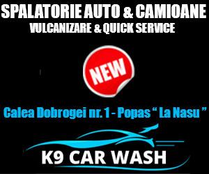 K9 Car Wash Valu lui Traian