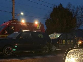Accident rutier cu 5 mașini în Valu lui Traian. FOTO A. O.