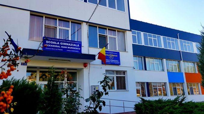 Școala Viceamiral Ioan Murgescu din Valu lui Traian. FOTO SVIM