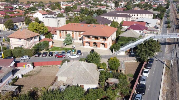 Centrul administrativ al comunei Valu lui Traian. FOTO Adrian Boioglu
