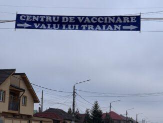 Centrul de Vaccinare Valu lui Traian. FOTO Adrian Boioglu